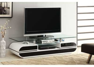 "Image for Evos 63"" White TV Console"