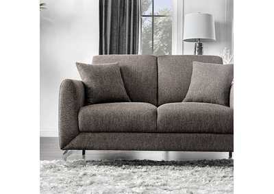 Lauritz Grey Love Seat