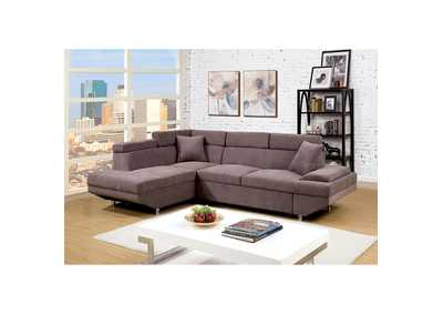 Image for Foreman Brown Sectional