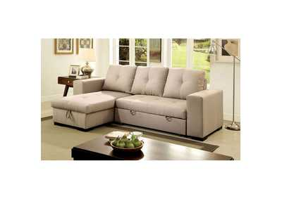 Image for Denton Ivory Sectional