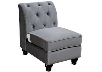 Jolanda II Grey Optional Chair