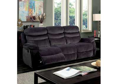 Leigh Gray Sofa w/2 Recliners