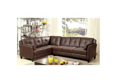 Image for Peever Brown Sectional