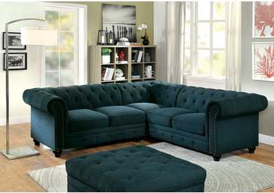 Image for Stanford II Teal Sectional