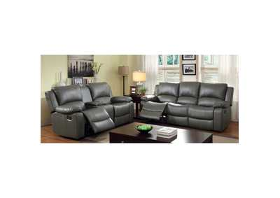 Image for Sarles Gray Glider Recliner