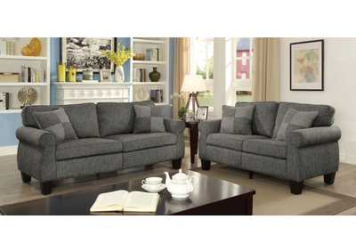 Image for Rhian Dark Gray Sofa