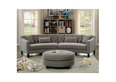 Image for Sarin Warm Gray Sectional