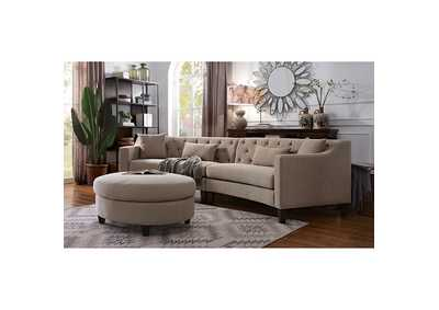 Sarin Beige Sectional