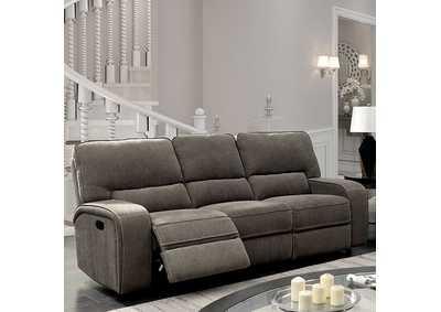 best buy furniture and mattress bickford gray reclining sofa rh bestbuy furniture com