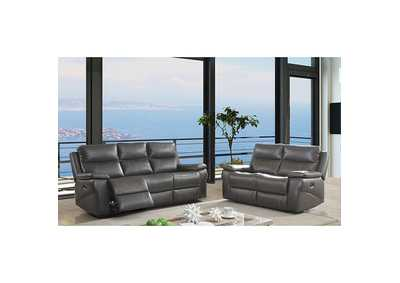 Image for Lila Gray Power-Assist Sofa