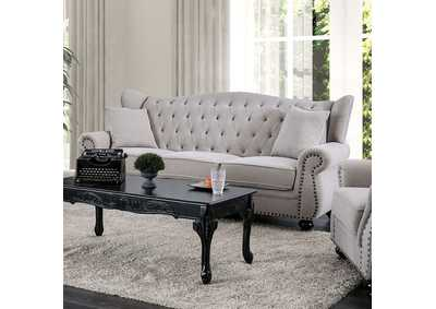 Ewloe Gray Stationary Sofa