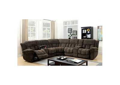 Ideal Furniture San Antonio West Irene Brown Fabric ...