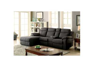 Kamryn Gray Sectional w/Console