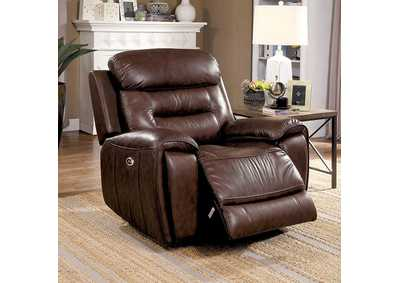 Victor Brown Power Recliner