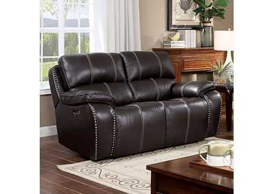 Eppi Brown Power Love Seat