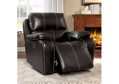 Eppi Brown Power Recliner