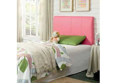 Image for Villa Park ll Pink Leatherette Twin Headboard