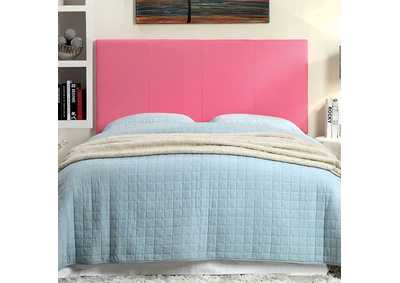 Image for Winn Park ll Pink Leatherette Queen Headboard