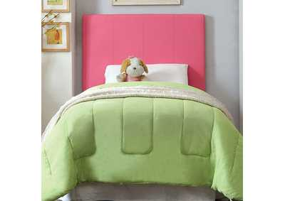 Image for Winn Park ll Pink Leatherette Twin Headboard