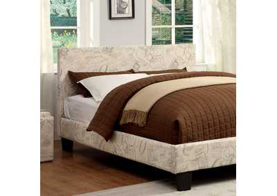 Image for Winn Park World Traveler Upholstered Full Platform Bed