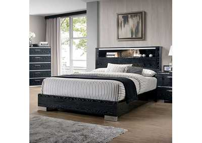 Image for Malte Black Panel Queen Bed