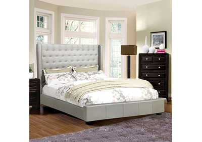 Image for Mira II Silver Queen Platform Bed