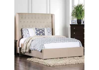 Image for Mira II Ivory California King Platform Bed