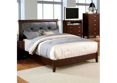 Image for Enrico I Brown California King Platform Bed