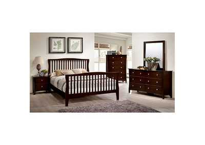 Image for Riggins Brown California King Panel Bed