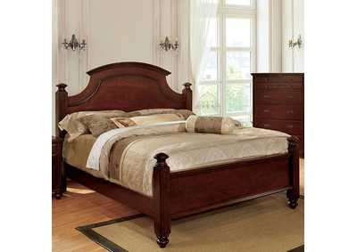 Image for Gabrielle II Cherry California King Poster Bed