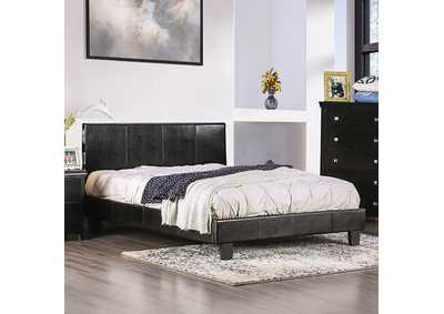 Image for Evans Espresso Full Platform Bed