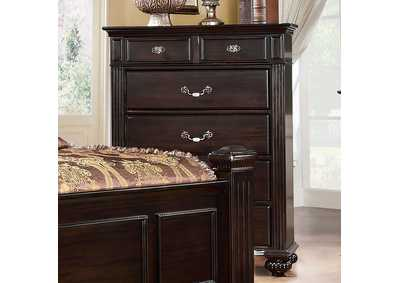 Image for Syracuse Dark Walnut Drawer Chest