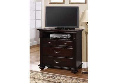 Image for Syracuse Dark Walnut Media Chest