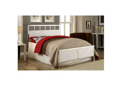 Image for Calvin White Full Panel Bed