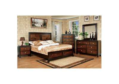 Image for Patra Acacia & Walnut Drawer Chest