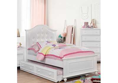 Image for Olivia White Twin Bed