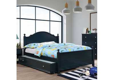 Image for Diane Blue Full Platform Bed