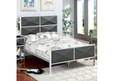 Image for Largo Silver & Gray Full Panel Bed