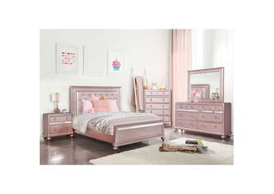 Image for Ariston Pink Twin Bed