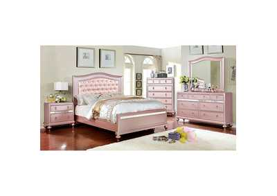 Image for Ariston Rose Gold Twin Bed