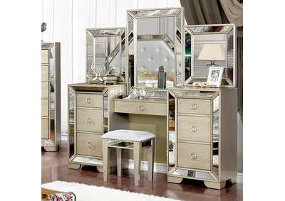 Image for Loraine Silver Vanity Set