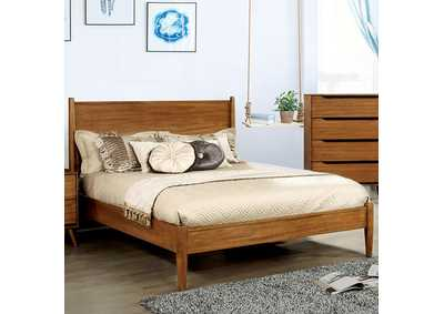 Image for Lennart I Oak Full Platform Bed