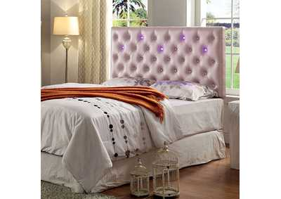 Aldebaran Pink Upholstered King Headboard