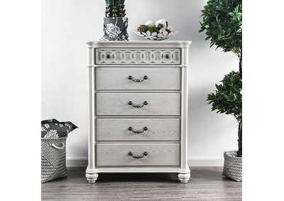 Fantasia White Chest,Furniture of America