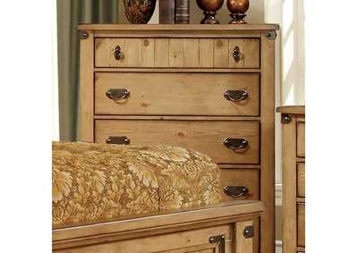 Image for Pioneer Weathered Elm Drawer Chest