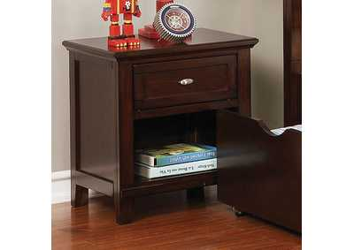 Image for Brogan Brown Nightstand
