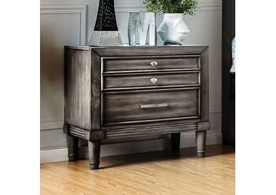 Image for Daphne Gray Nightstand