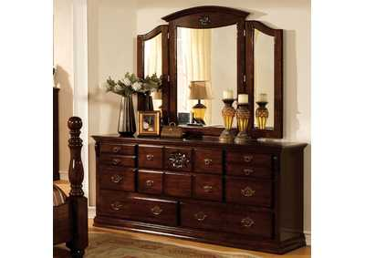 Image for Tuscan II Dark Pine Dresser