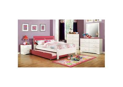 Image for Kimmel Pink & White Drawer Chest