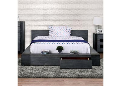 Image for Janeiro Gray Eastern King Platform Bed